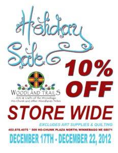 Woodland Trails Holiday Sale!