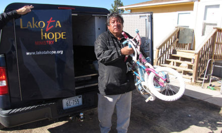 Mad Dads Bike Donation to Whiteclay