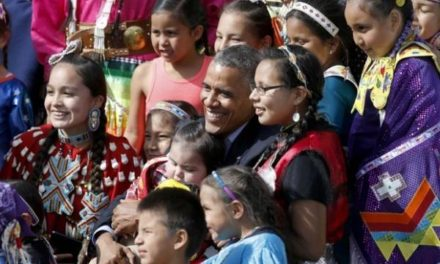 10 Great PrezRezVisit Tweets From Obama's Visit to Standing Rock