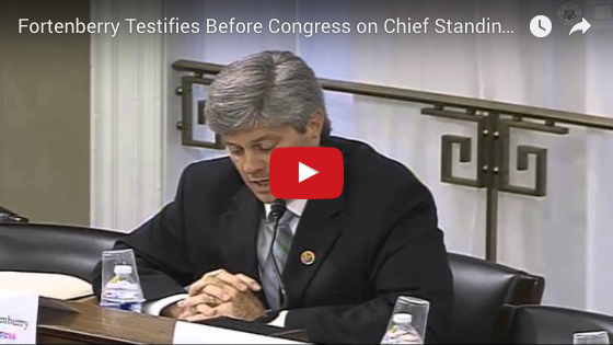 Rep. Jeff Fortenberry testifies in Congress on Chief Standing Bear Trail