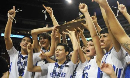 Winnebago Boy's Basketball Team Wins State!!