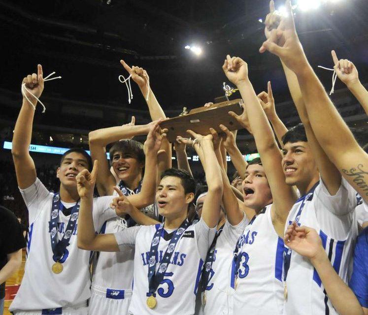 Winnebago Boy's Basketball Team Wins State!!
