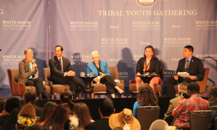 Sovereign Native Youth Leaders participate In Historic White House Tribal Youth Gathering