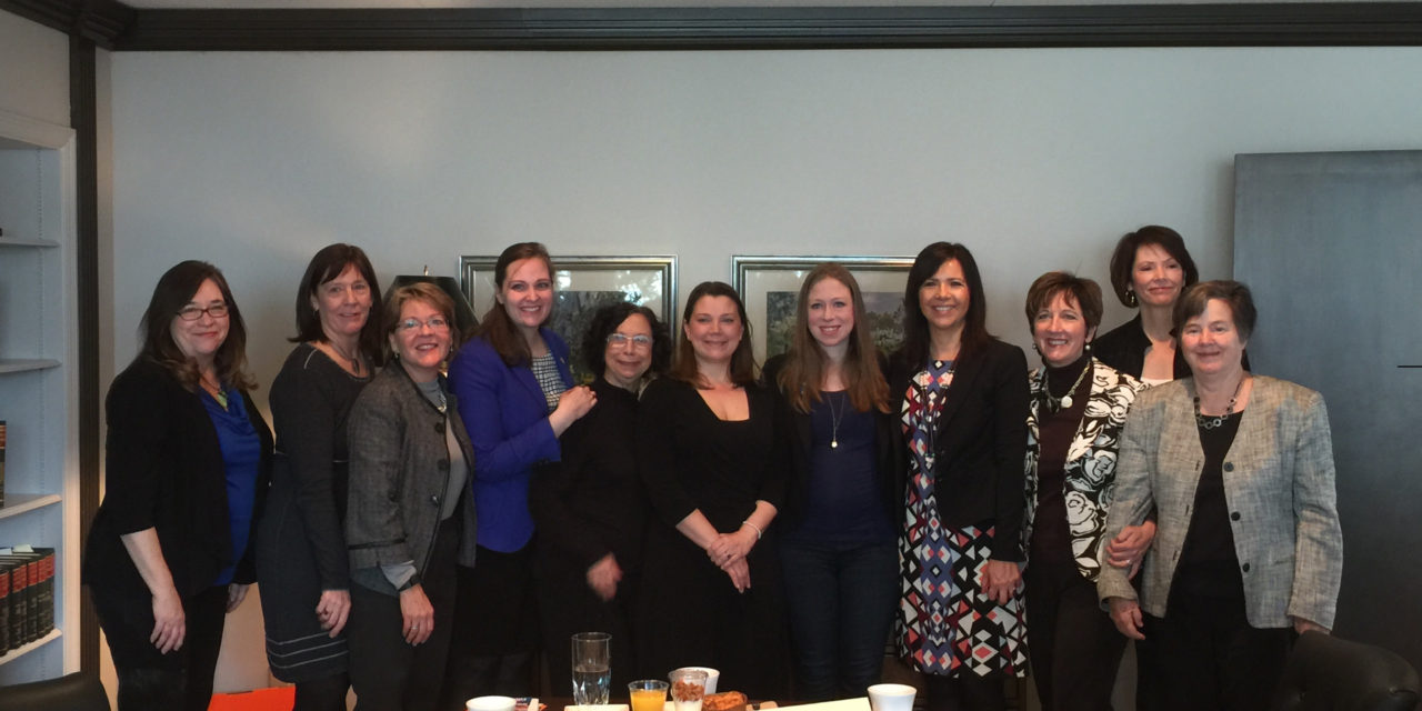Female Nebraska Leaders attend Brunch with Chelsea Clinton