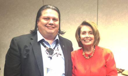 Nebraska Tribal Leaders Attend Tribal Nations Conference