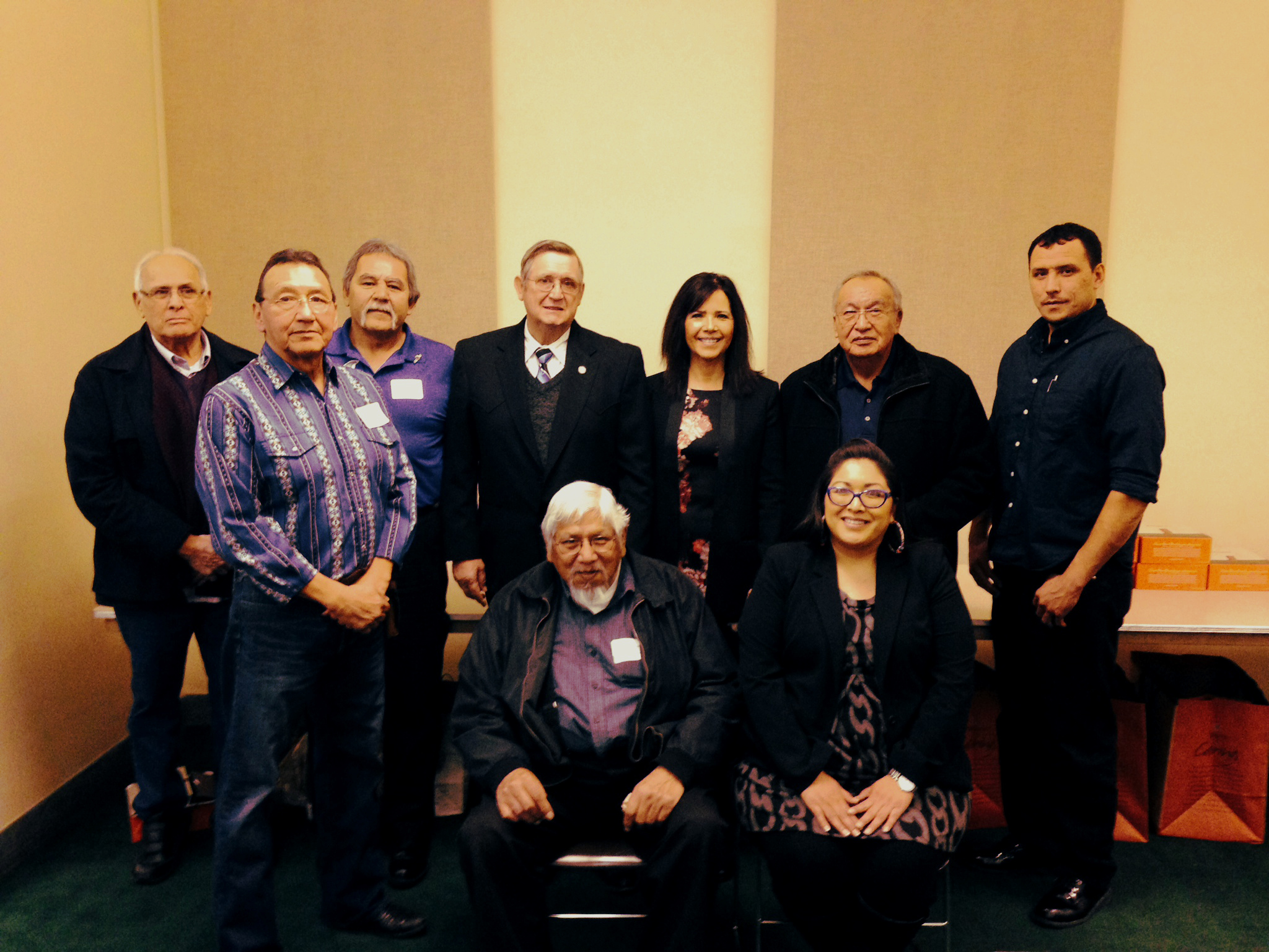Winnebago Tribe Hosts Legislative Luncheon