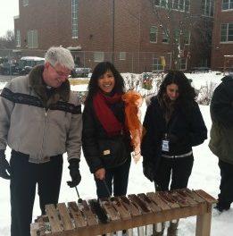 NCIA Facilitates Creation of Sister Outdoor Classrooms