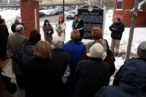 Creighton University Dedicates Historial Marker to Native Americans