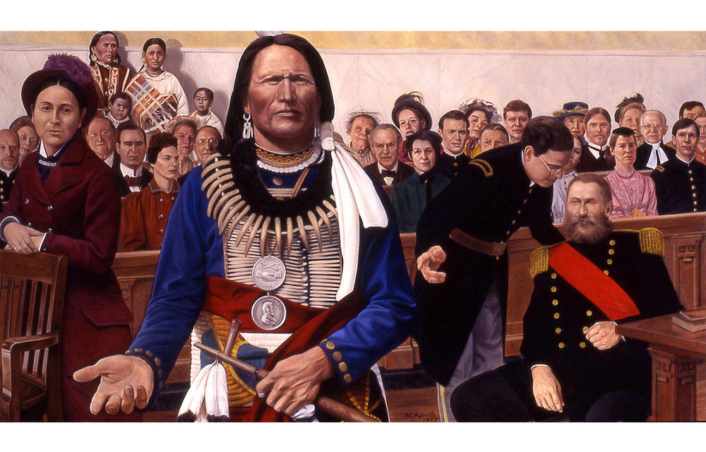 Nebraska Virtual Capitol Tour: Chief Standing Bear