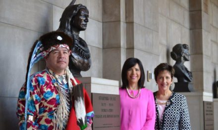 Story of Chief Standing Bear included Nebraska's 150 Celebration