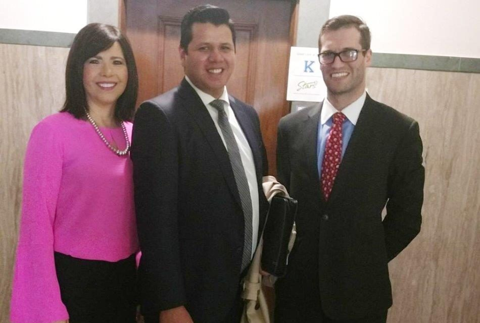 NCIA commissioner Lucas LaRose recently came to the State Capitol to testify