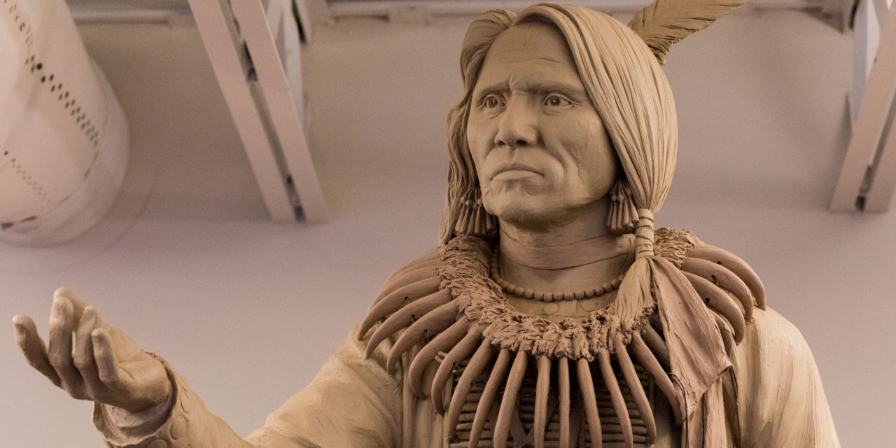 Chief Standing Bear Comes To Lincoln