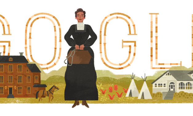 Google honors the life and legacy of Dr. Susan La Flesche Picotte (1865-1915)