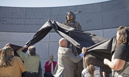 Chief Standing Bear returns home 140 years later