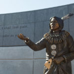 New statue in Centennial Mall honors Chief Standing Bear