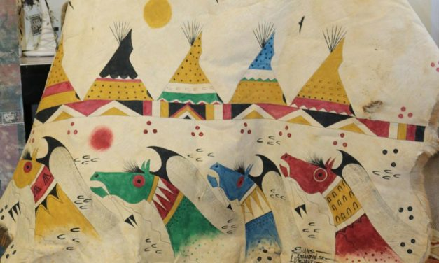 Lakota art a connection to the past, a path to the future