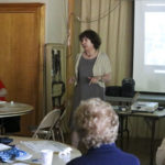 GFWC learns about the Medicine Woman