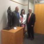Judi gaiashkibos MEETS LIncoln mayor Chris Beutler