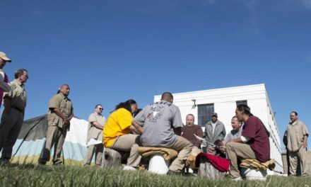 Sacred ground at state prison is silent witness to the resetting of souls