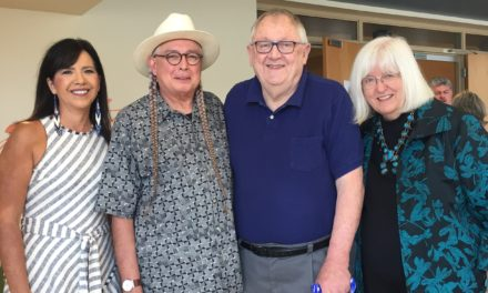 Walter Echo-Hawk speaks at the Center for Great Plains Studies about his new book, Sea of Grass
