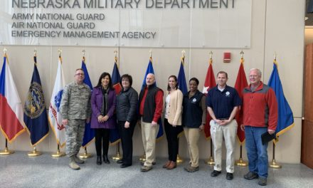 NCIA tours flood damage and holds listening session