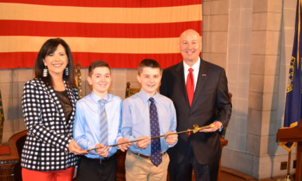 History Day Competitors Bring Historic Artifact to Capitol