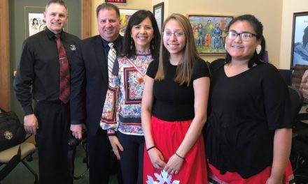 JAG Students from Umonhon Nation School visit the Capitol