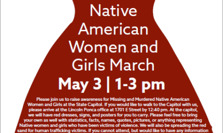 Missing and Murdered Native American Women and Girls March