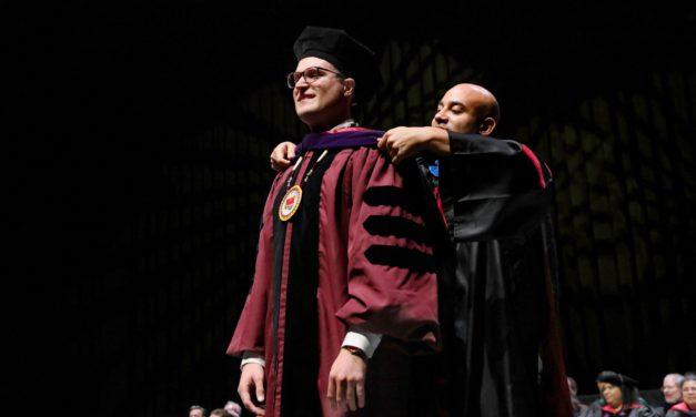 Alexander Mallory receives Juris Doctor