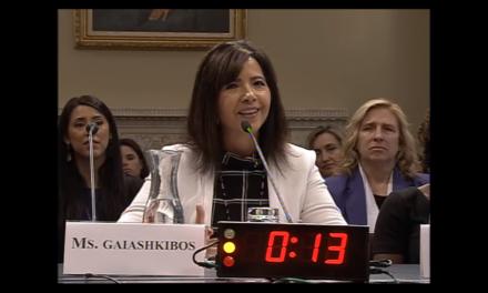 Executive Director testifies on Standing Bear Historical Trail legislation