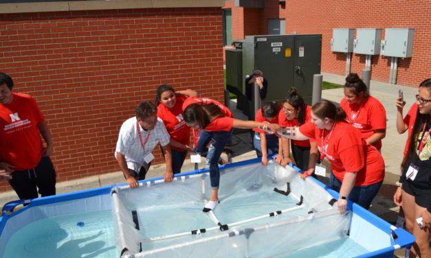 Sink or Swim? SNYLA students learn about buoyancy!