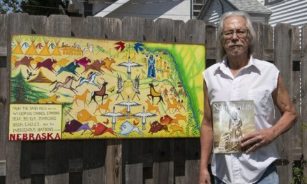 The Native artist behind Nebraska's First People license plates