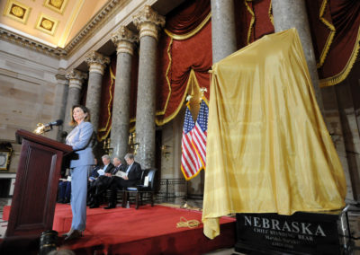 091819 Chief Standing Bear Statuary Hall Dedication-006