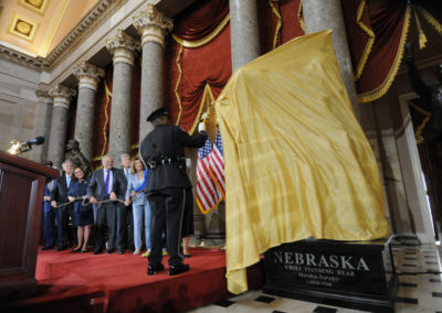 091819 Chief Standing Bear Statuary Hall Dedication-009
