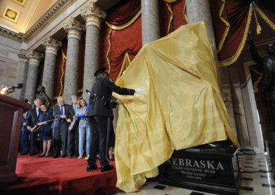 091819 Chief Standing Bear Statuary Hall Dedication-010