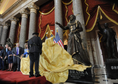 091819 Chief Standing Bear Statuary Hall Dedication-011