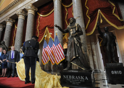 091819 Chief Standing Bear Statuary Hall Dedication-012