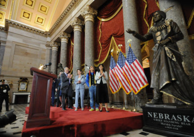 091819 Chief Standing Bear Statuary Hall Dedication-014