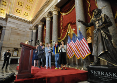 091819 Chief Standing Bear Statuary Hall Dedication-015