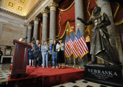 091819 Chief Standing Bear Statuary Hall Dedication-016