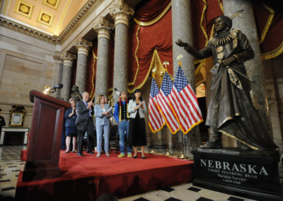 091819 Chief Standing Bear Statuary Hall Dedication-017