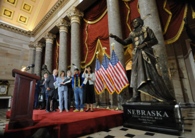 091819 Chief Standing Bear Statuary Hall Dedication-019