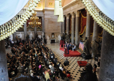 091819 Chief Standing Bear Statuary Hall Dedication-022