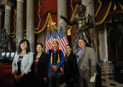 091819 Chief Standing Bear Statuary Hall Dedication-037