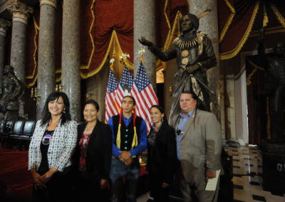 091819 Chief Standing Bear Statuary Hall Dedication-038