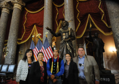 091819 Chief Standing Bear Statuary Hall Dedication-039