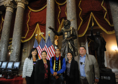 091819 Chief Standing Bear Statuary Hall Dedication-040
