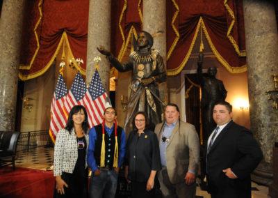 091819 Chief Standing Bear Statuary Hall Dedication-041