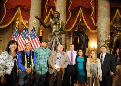 091819 Chief Standing Bear Statuary Hall Dedication-042