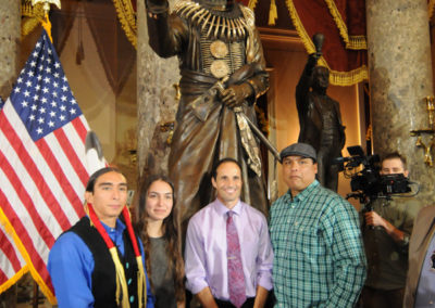 091819 Chief Standing Bear Statuary Hall Dedication-050